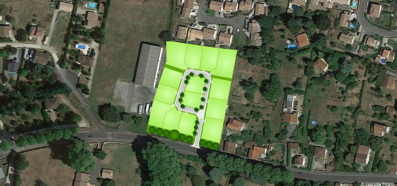 Terrain à vendre à Bessières - Les Terrasses de Mazades