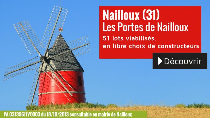 Terrain à vendre à Nailloux - Les Portes de Nailloux