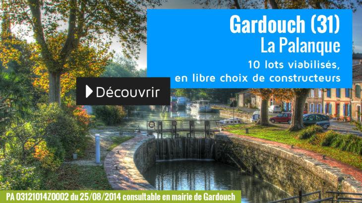Terrain à vendre à Gardouch - La Palanque