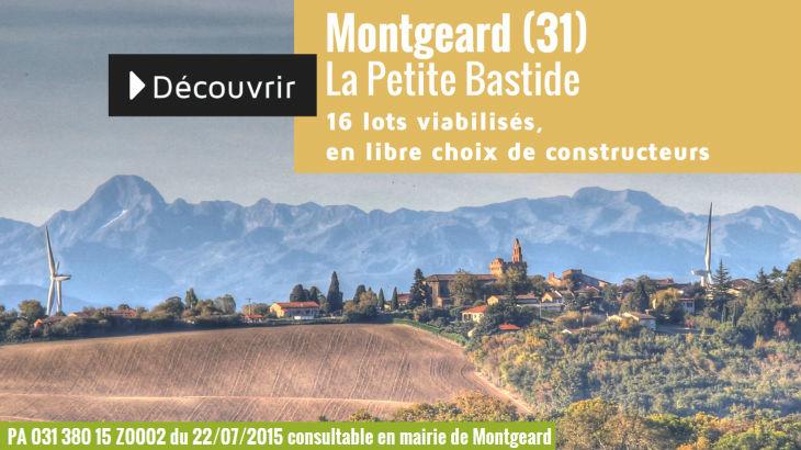 Terrain à vendre à Montgeard - La Petite Bastide