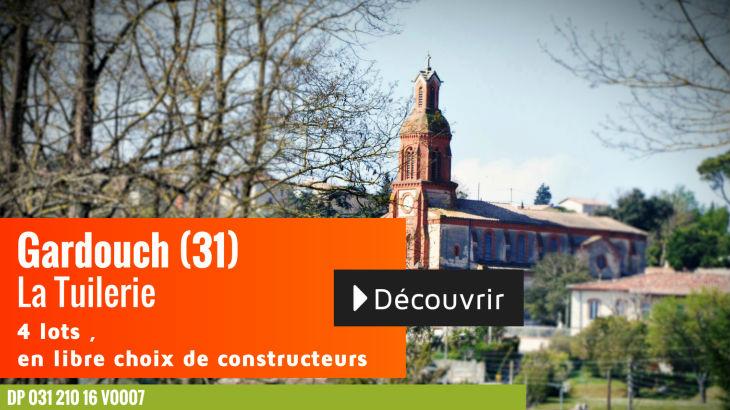 Terrain à vendre à Gardouch - La Tuilerie