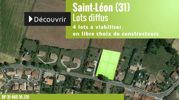 Terrain à vendre à Saint-Léon - 4 lots diffus